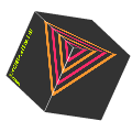 Glitchy Rotating Cube